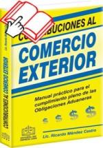 CONTRIBUCIONES AL COMERCIO EXTERIOR 2013