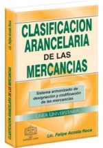 CLASIFICACIÓN ARACELARIA DE LAS MERCANCÍAS 2012
